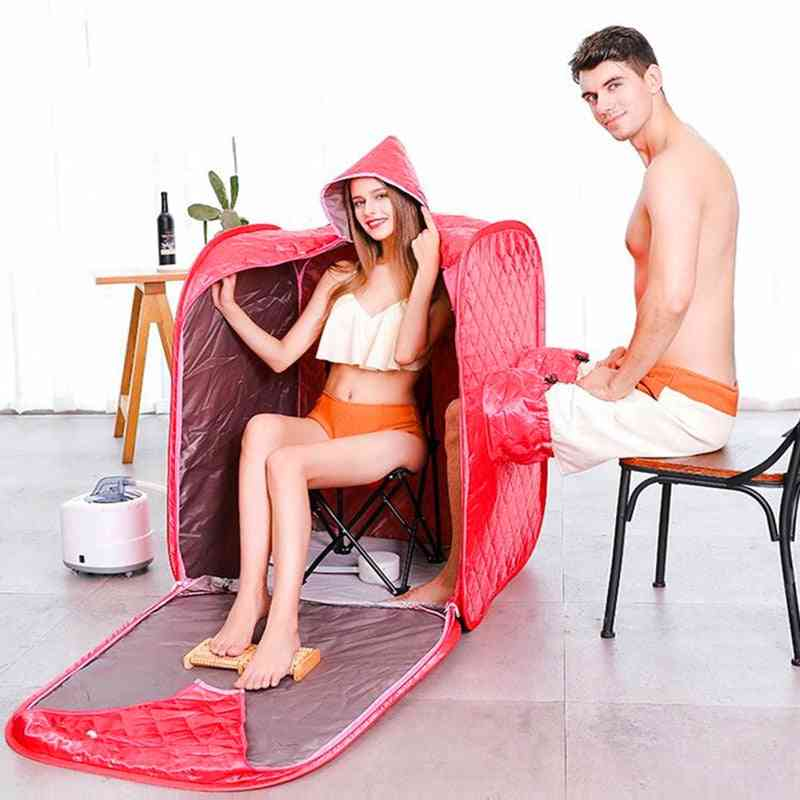 Portable Sauna Therapy Machine With Folding Tent, Generator, Hose And Remote Control