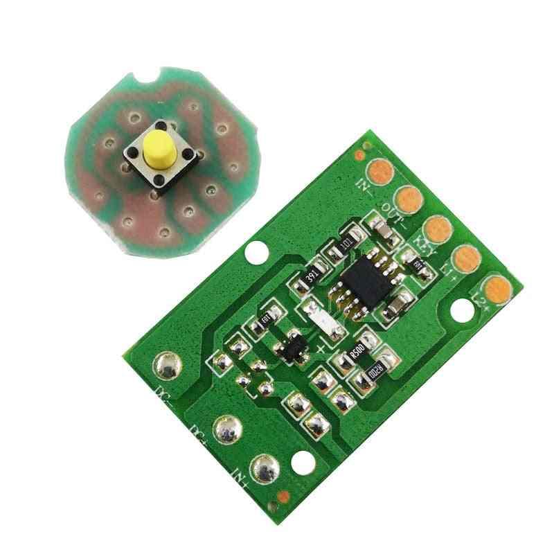 T6 / U2 / L2 Glare Light Control Circuit Board, Flashlight Driver