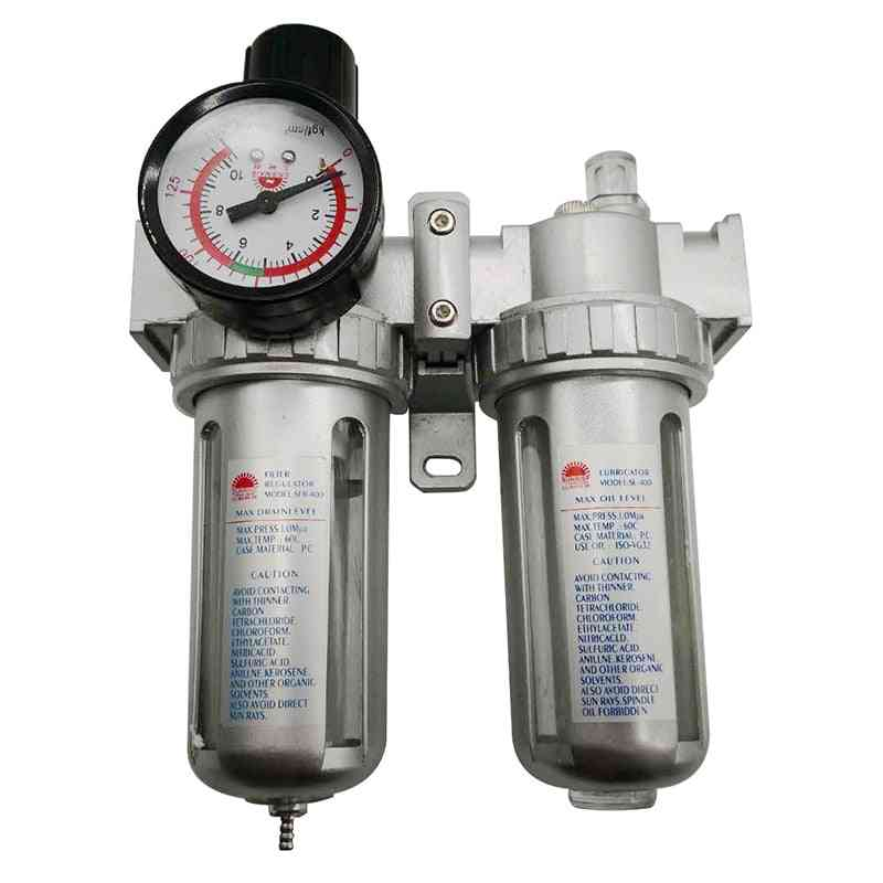 Air Compressor Filter Regulator, Oil Water Separator Trap Valve
