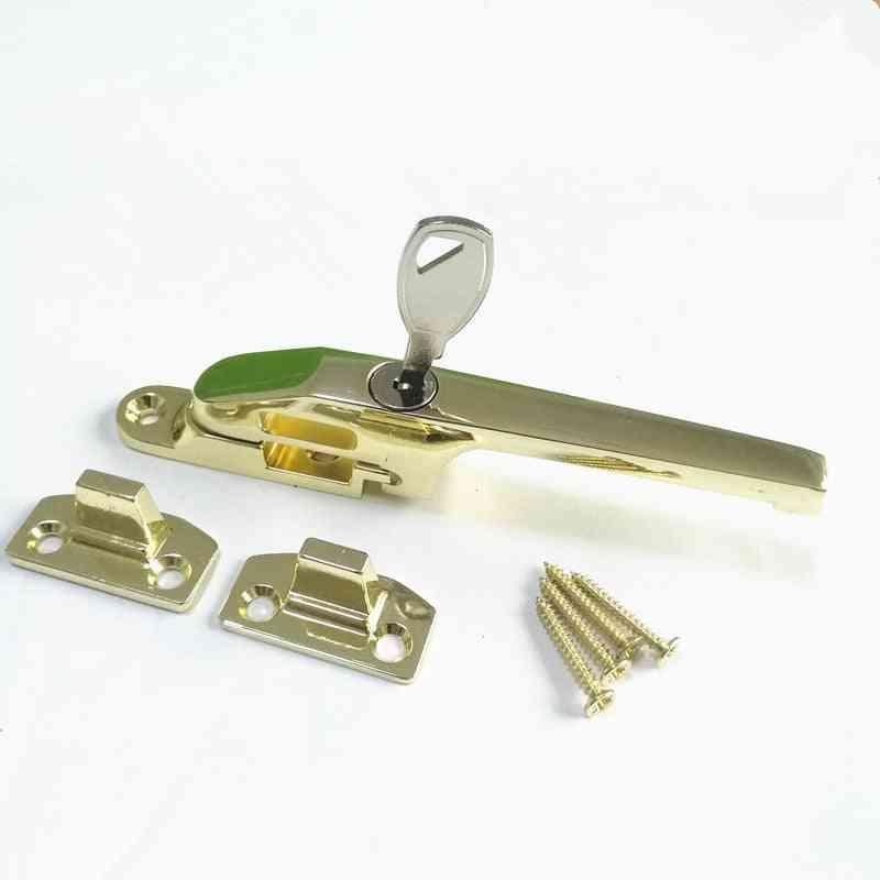 Brass Zinc Alloy Locking Casement Fastener -window Limiter Strut Latch Locks