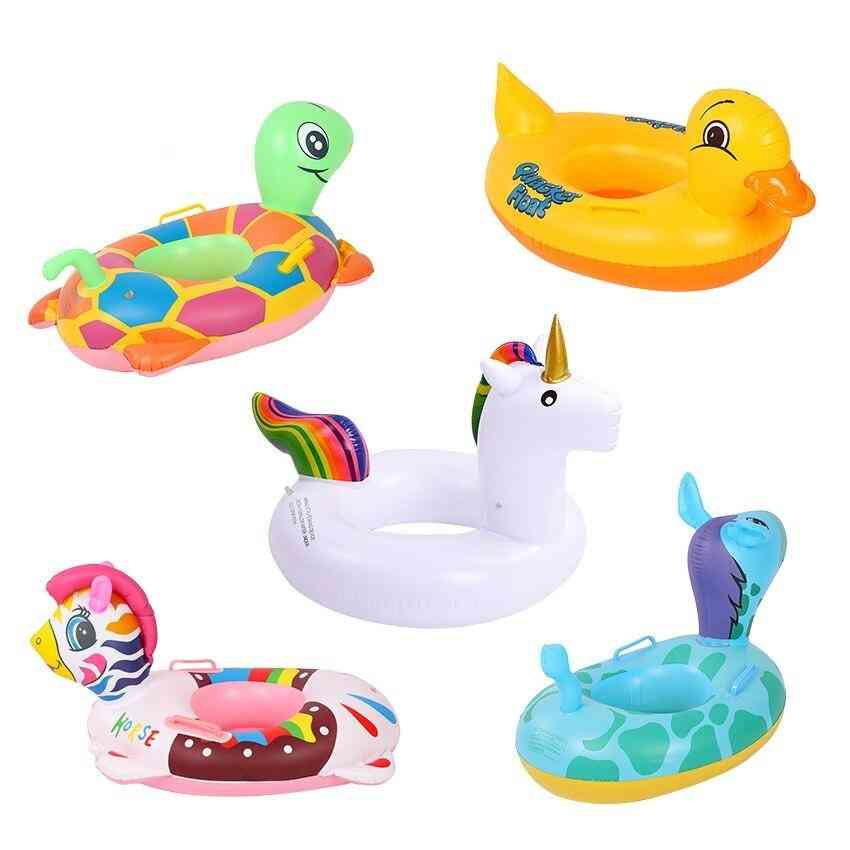 Baby Learning Swimming Seat, Inflatable Lifebelt Toy For Water