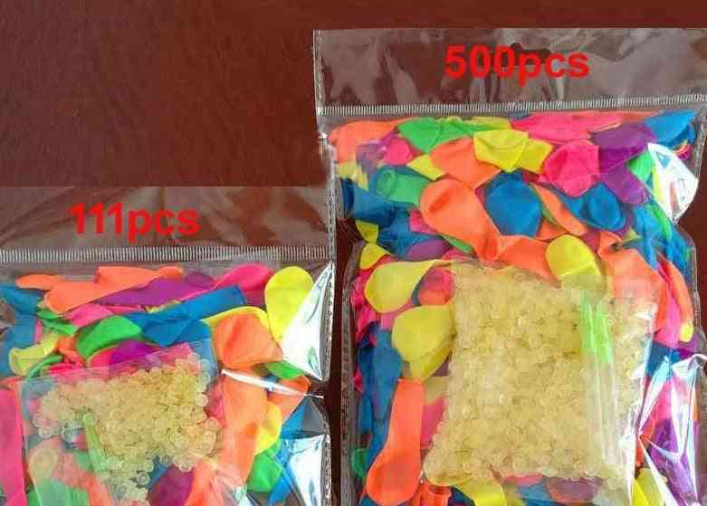 500pcs Water Balloons For Summer Beach Party Toy