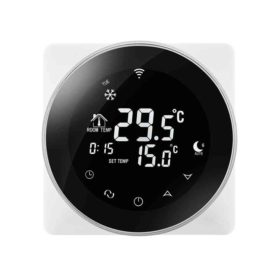 Wifi Gas Boiler Thermostat- Touch Screen With Smart Temperature Regulator