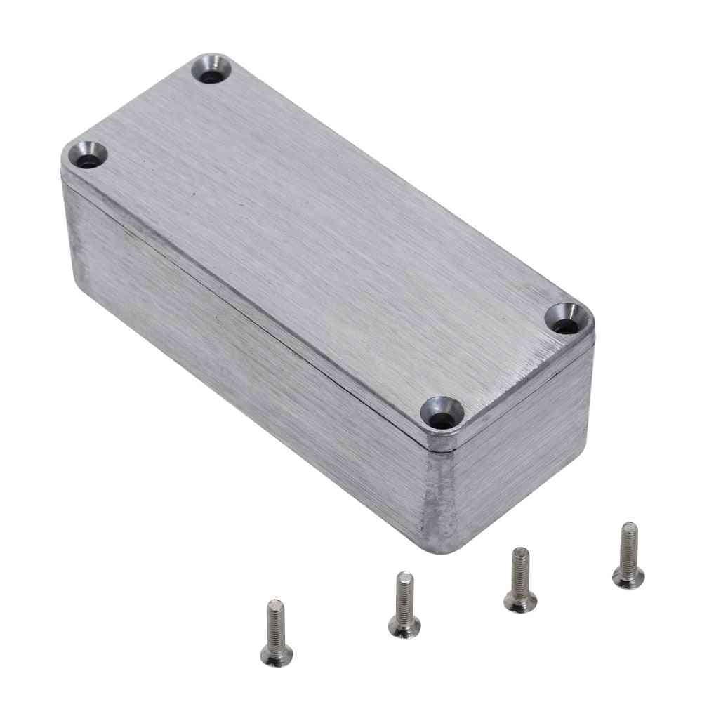 Silver Aluminium Enclosure Case - Electronic Project Box