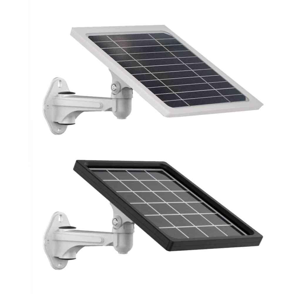 5w Solar Battery Panel, External Charging Board For Gps Light