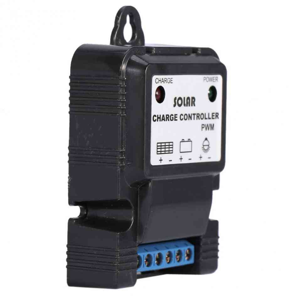 Solar Battery Charge Controller-regulator With Led Indicator