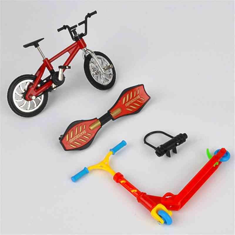 Mini Two Wheel Scooter Bike, Finger Skateboard-children's Toy