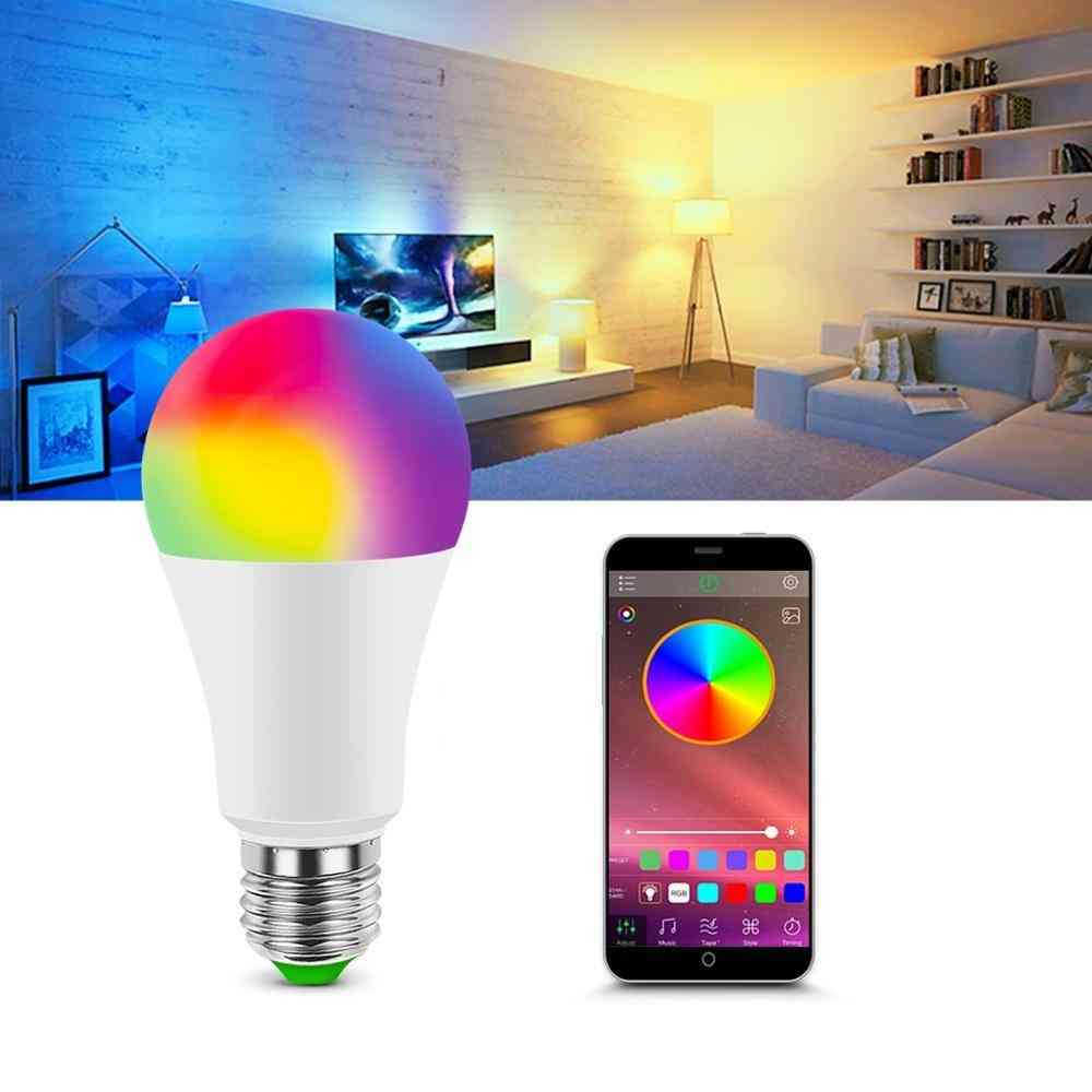 Smart Dimmable Led Lamp- With Music App Control
