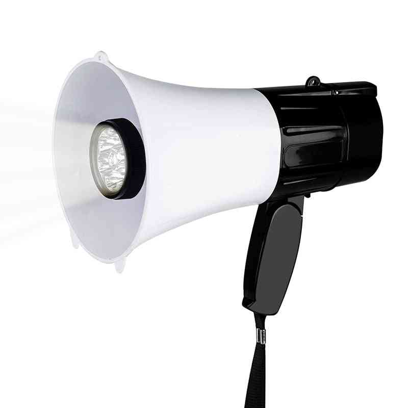 Multifunction Megaphone Speaker With Flashlight
