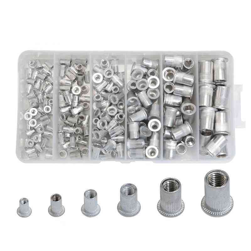 190pcs  Aluminum Alloy Rivet Nut Kit