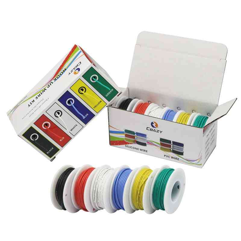 Flexible Silicone-hook Up Wire Kit
