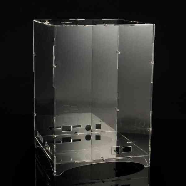 Led 3d Light Cube Kit, Acrylic Case- Music Spectrum Shellbox