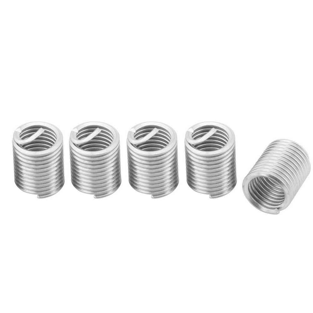60pcs Industrial, Stainless Steel Spiral Thread Insert Set