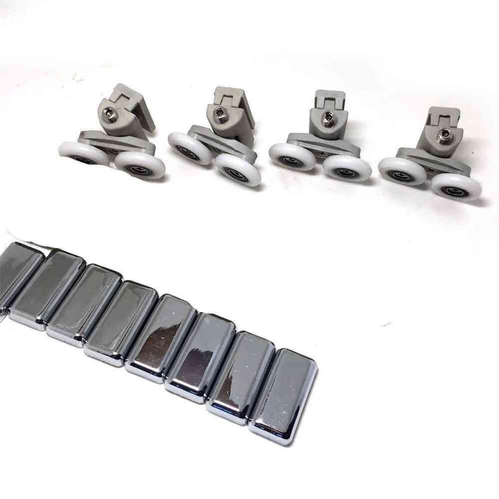 Set Of 8 Shower Door Rollers-pulleys Wheels
