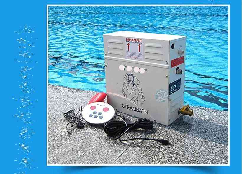 9kw Steam Generator-sauna Equipment With Digital Controller