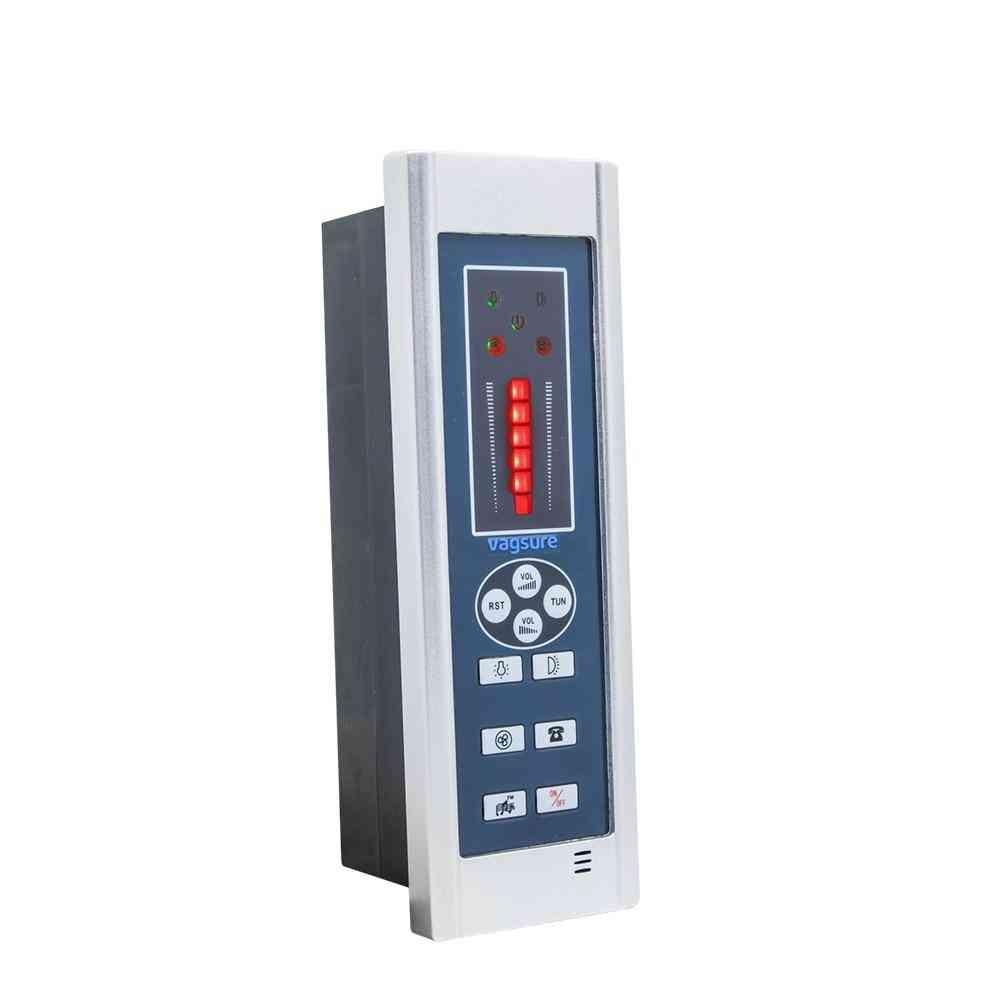 Waterproof Digital Shower Controller With Fm Radio, Speaker, Freehand Telephone