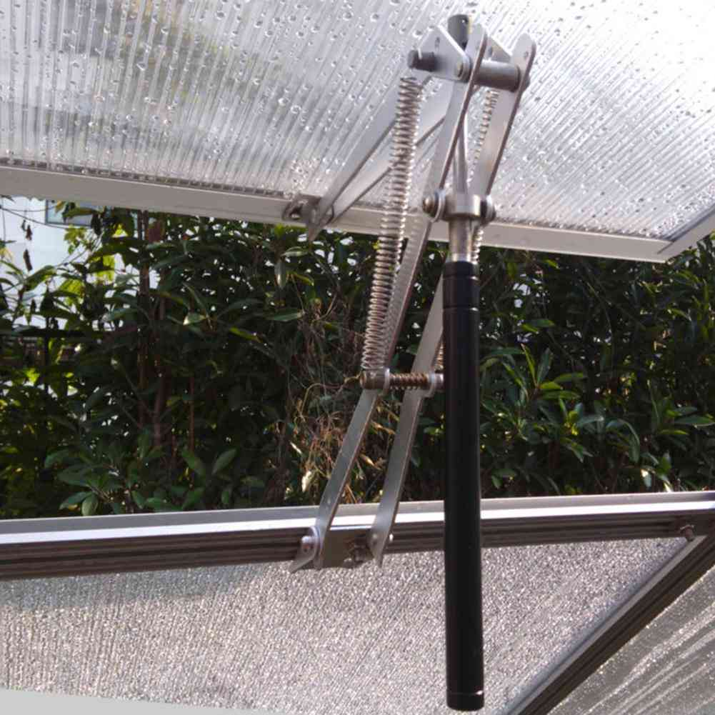 Solar Heat Sensitive, Automatic Thermo Vent-window Opener For Greenhouse