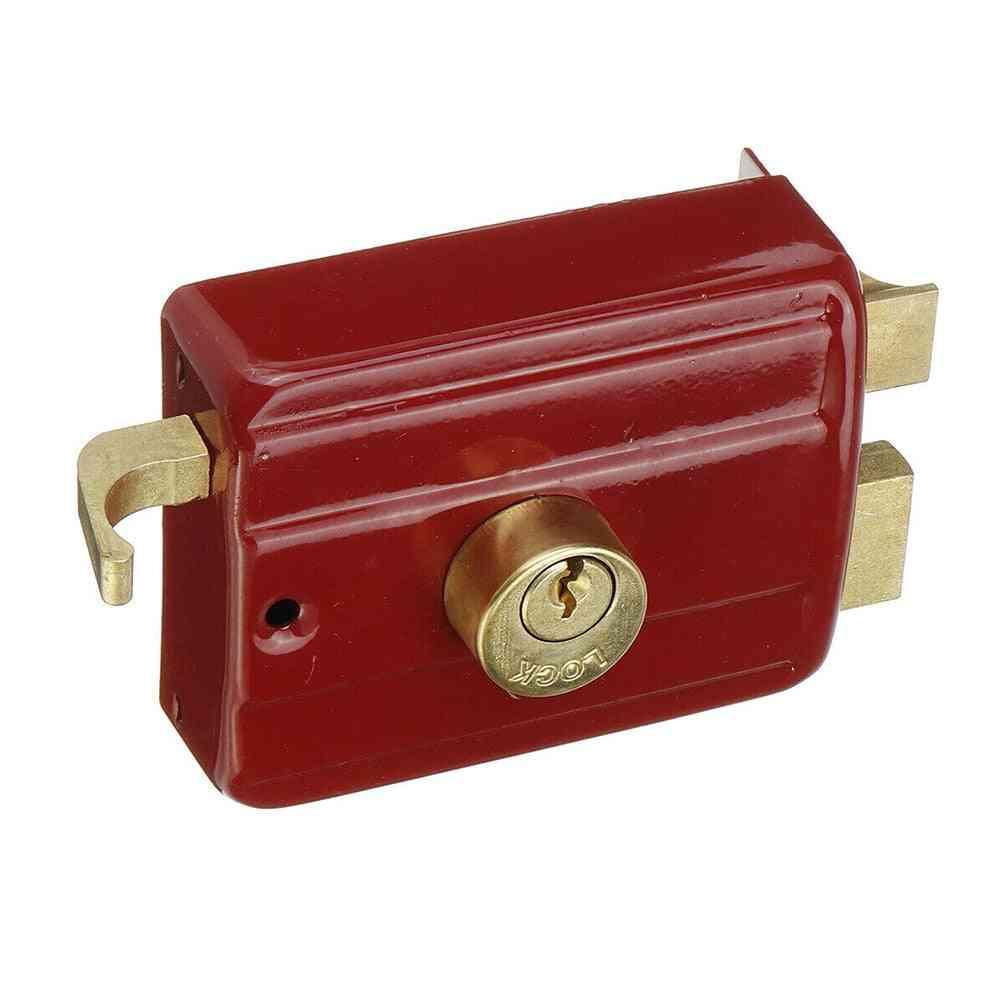Indoor Strong Professional Door Lock - Heavy Duty, Anti Theft Home Security Accessory