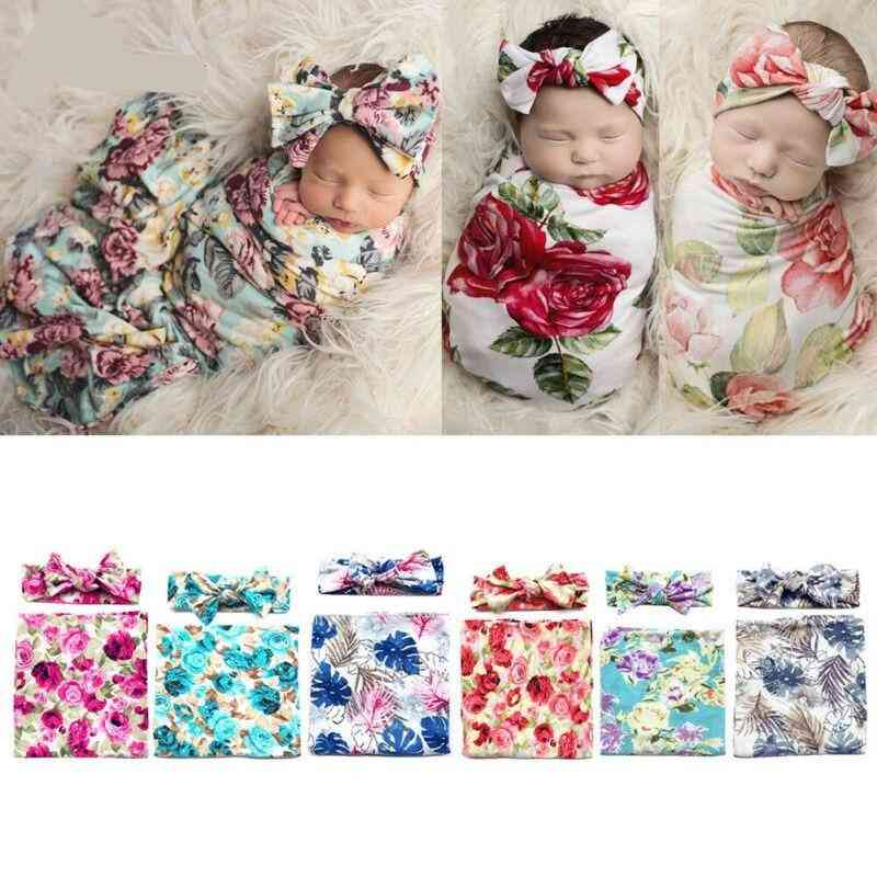 Soft Muslin & Newborn Cotton Wrap Swaddling Blanket