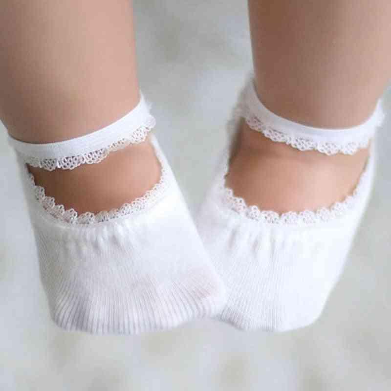 Soft Cotton, Newborn Baby Girl Socks For Summer