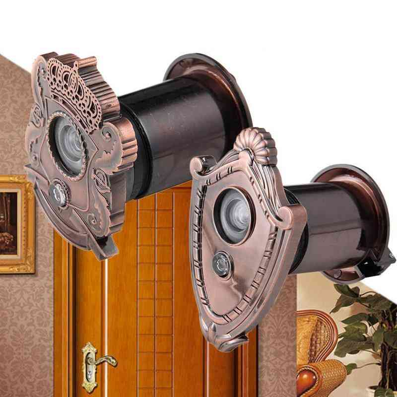 2 In 1 Cat Eye Door Viewer With 220-degree Wide Angle