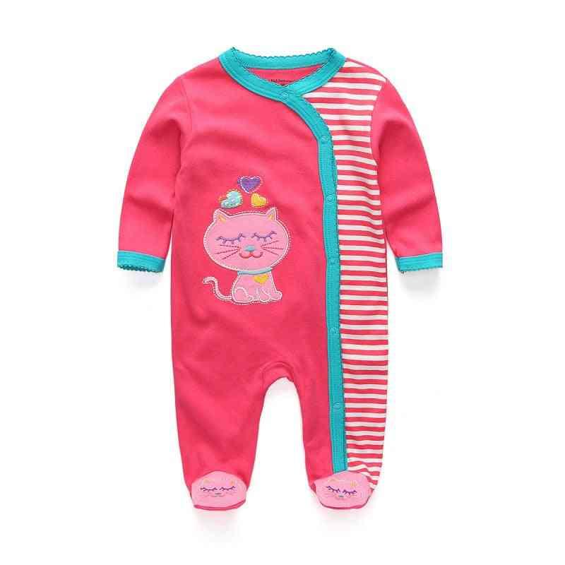 Newborn Sleepwear Baby Clothing Cartoon Blanket- Infant Long Sleeve Baby Pajamas Clothes