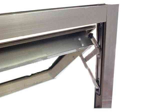 16inch Aluminum Window Wind Brace, Slider/hinges