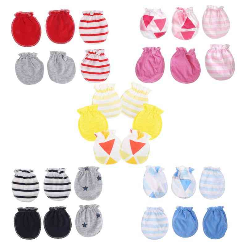 Anti Scratching Gloves - Cotton Mittens For Toddlers
