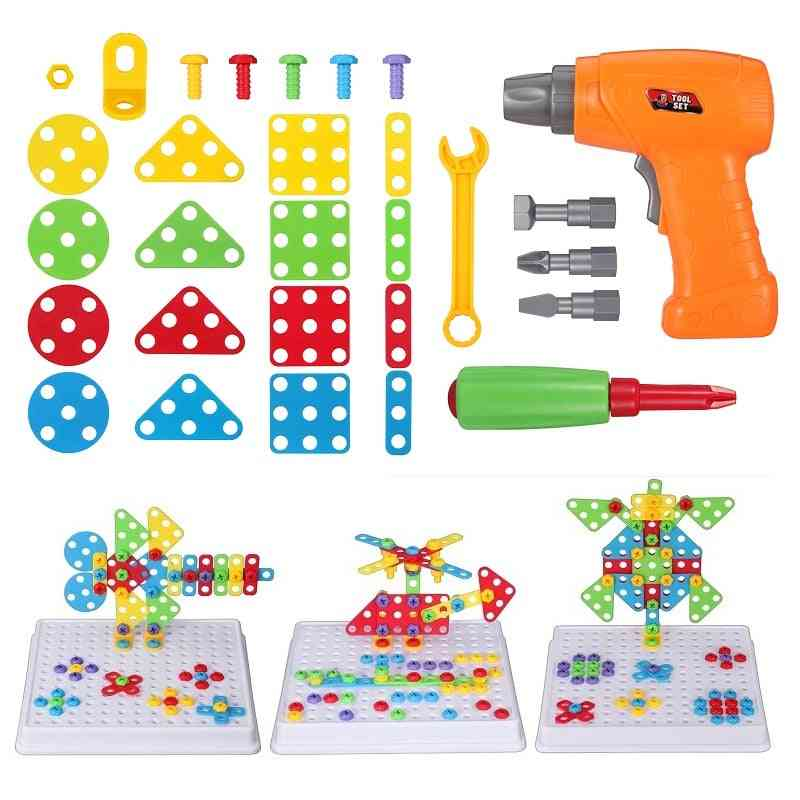 Electric Drill Screw, Nut Disassembly Creative Puzzle Toy For Kids