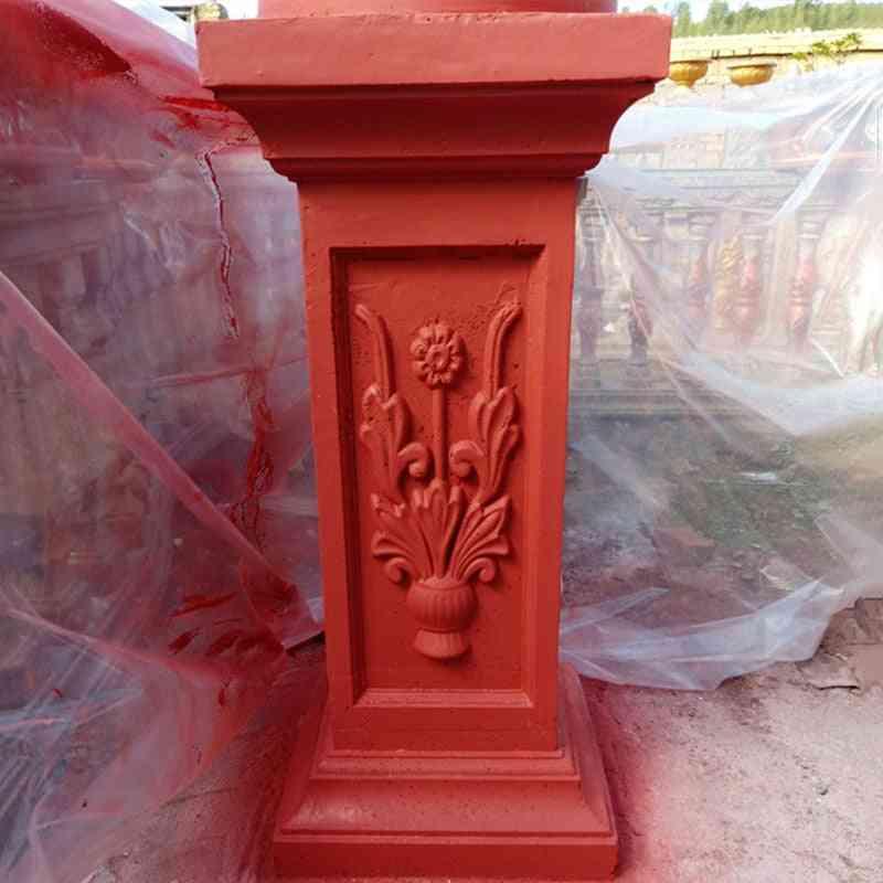 40cm Abs Multi Functional, Classic Style Concrete Roman Pillar Mold