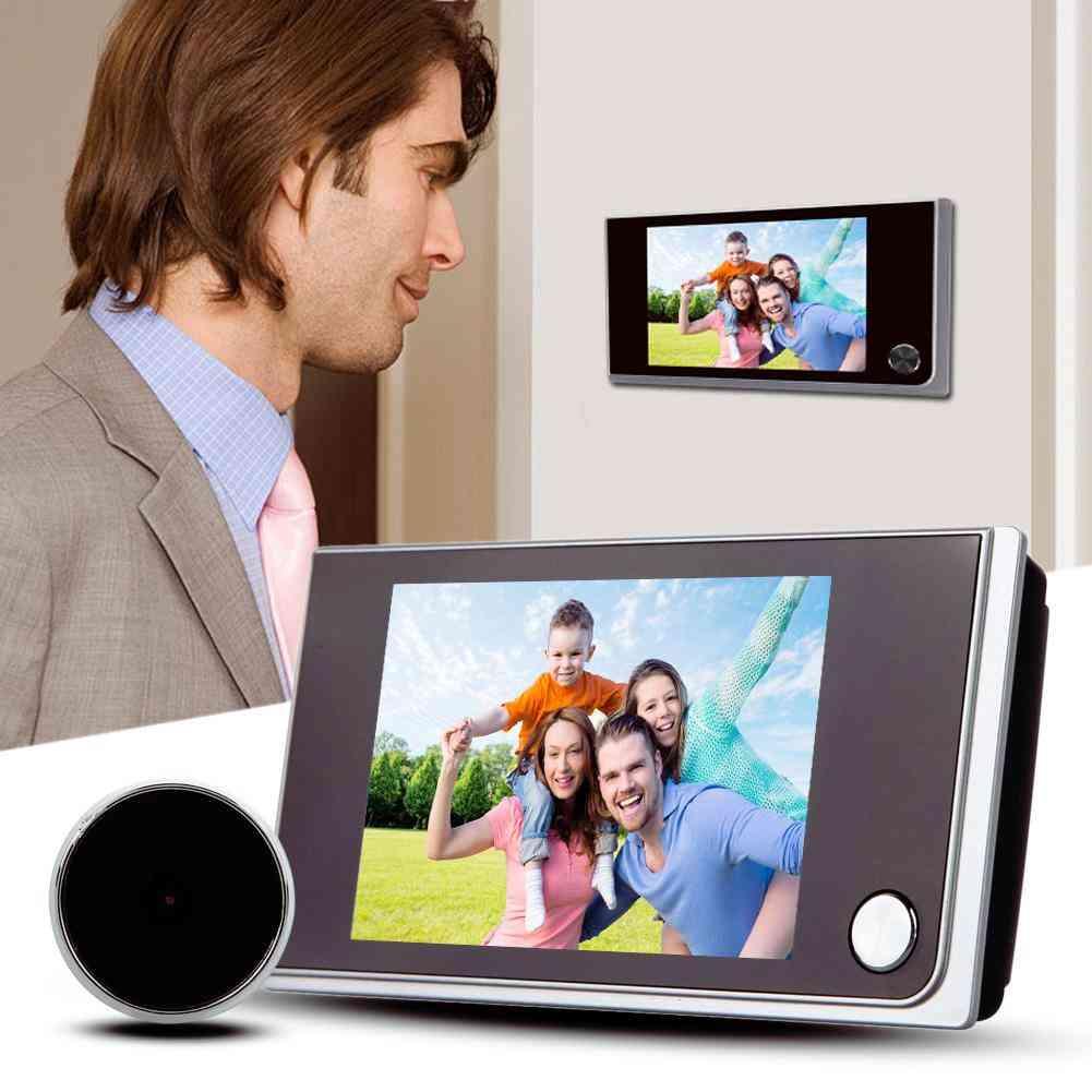 3.5 Inch Lcd Color Screen Peephole Camera - Digital Doorbell