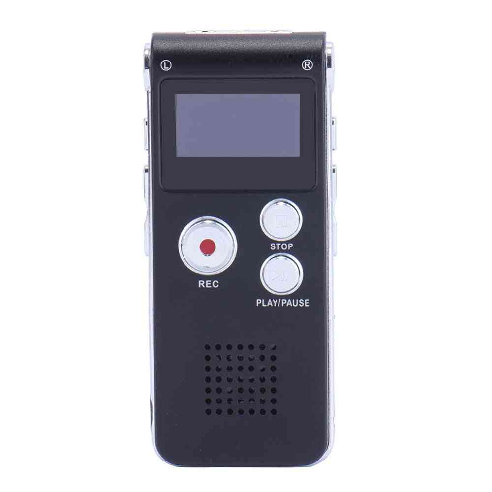 Usb Built-in Microphone - Mp3 Player Dictaphone Voice Recorder Pen