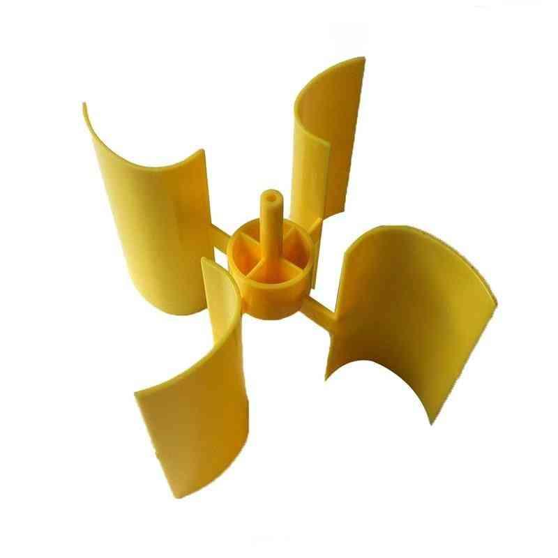 Mini Wind Turbine Vertical Axis -high Quality Small Set Blade