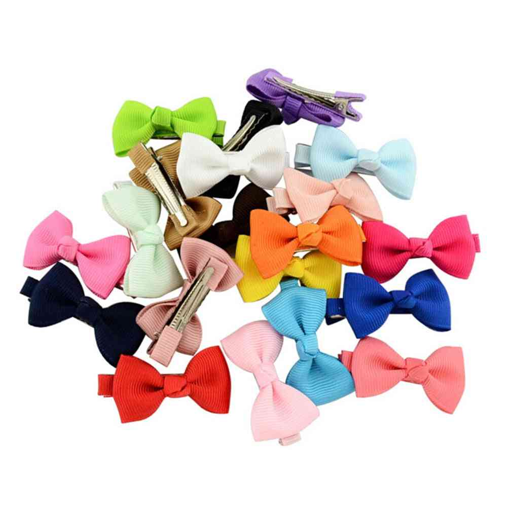 Baby Bow Flower - Small Barrettes Cute Hairpins