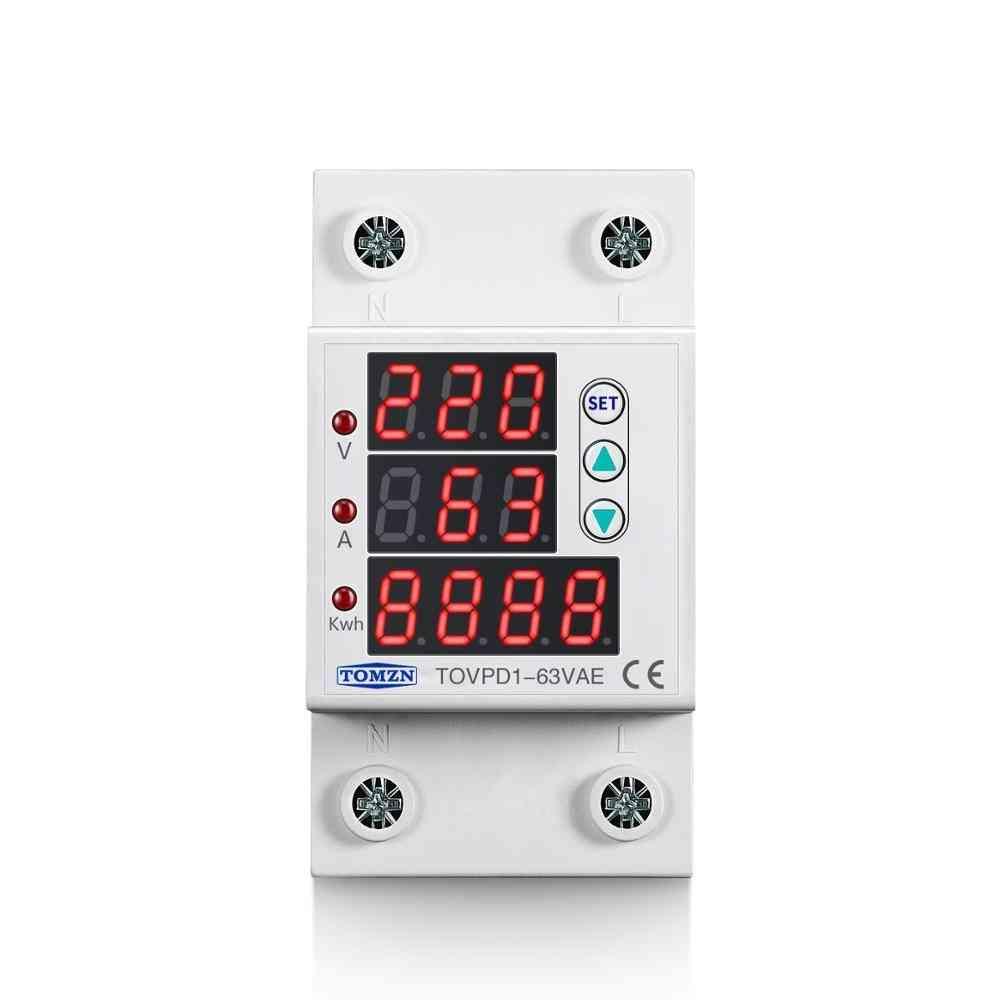 3in1 Display Voltage Current Protector