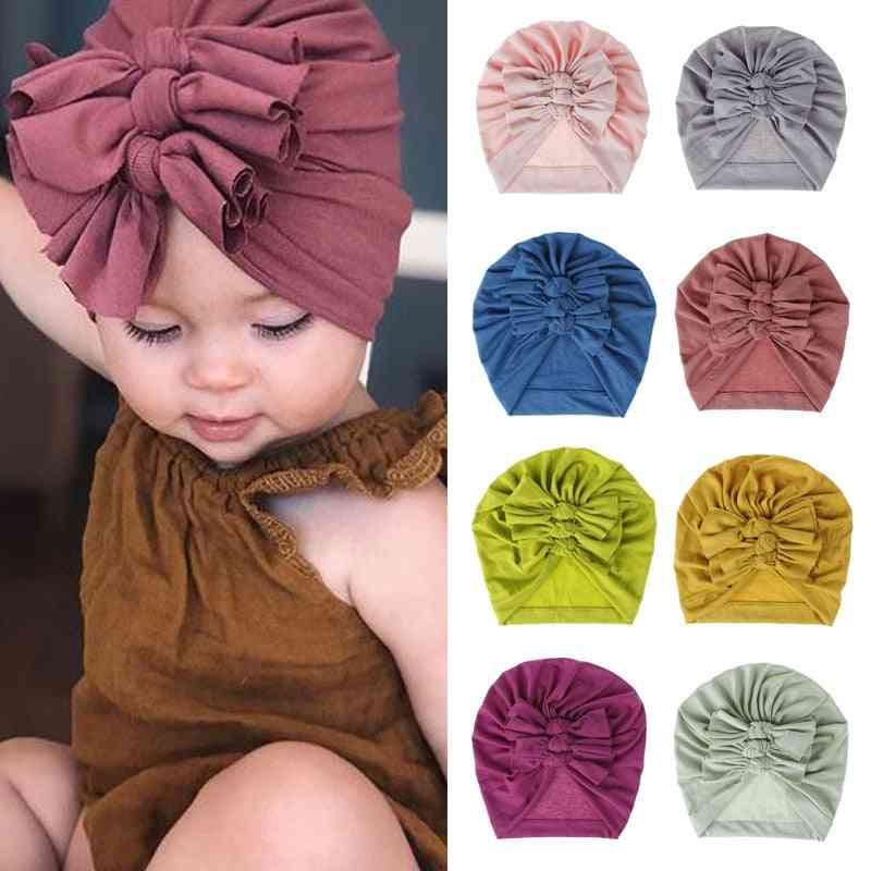 Bows Turban Hat For Babies