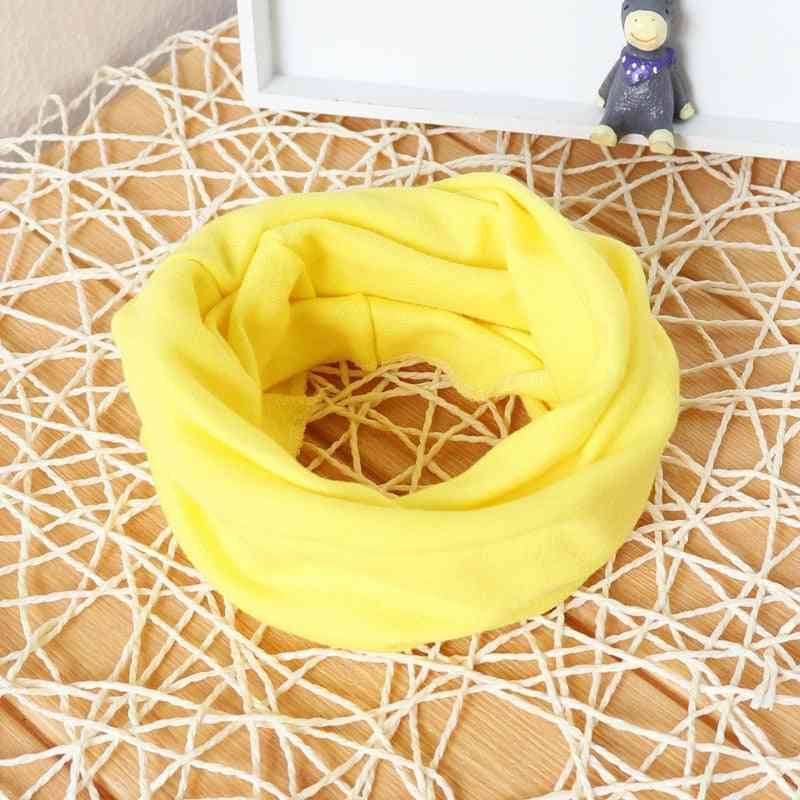 Autumn Winter Solid Cotton Scarves For Infant