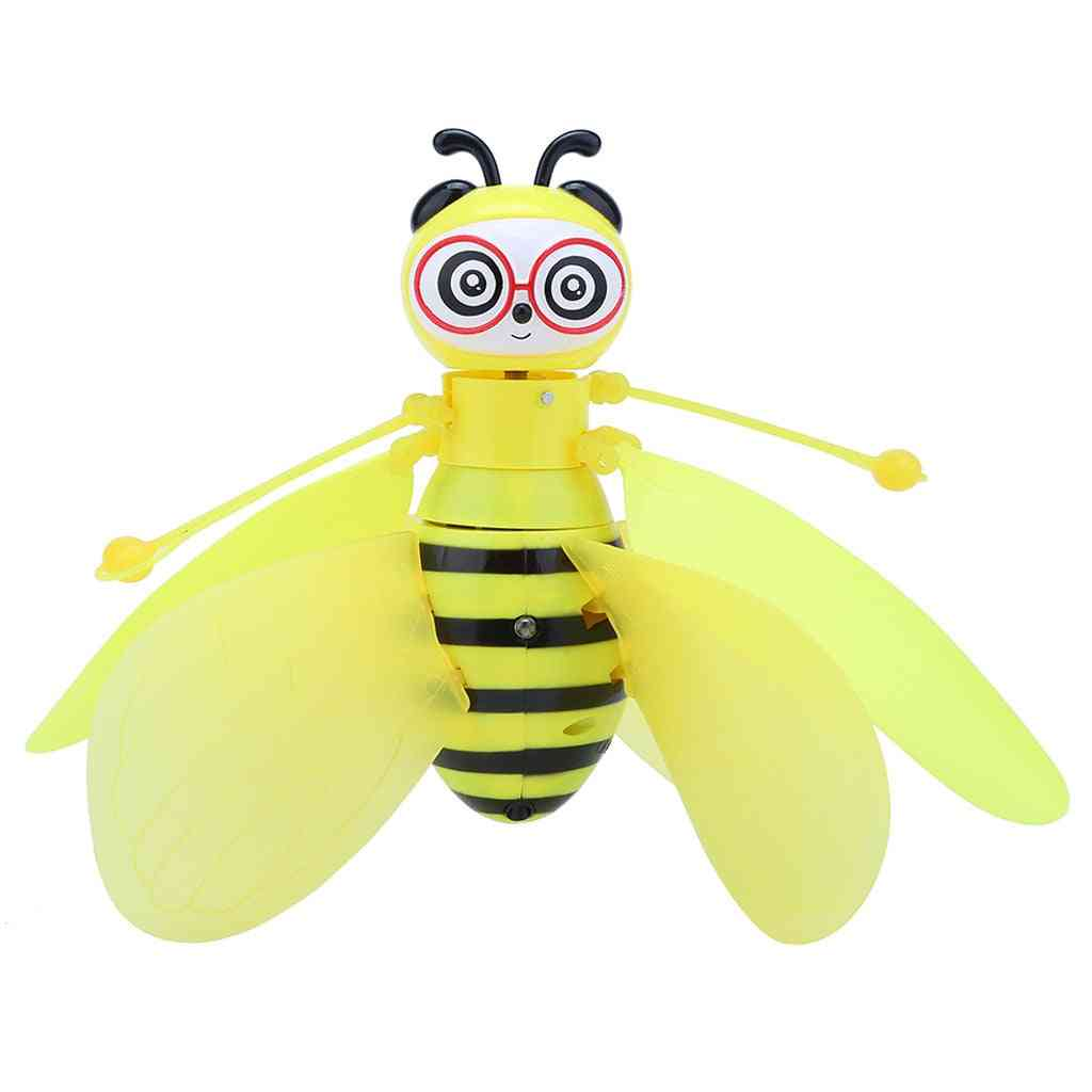 Rc Mini Infraed Sensor, Bee Flying Induction - Aircraft Drone Kids Toy