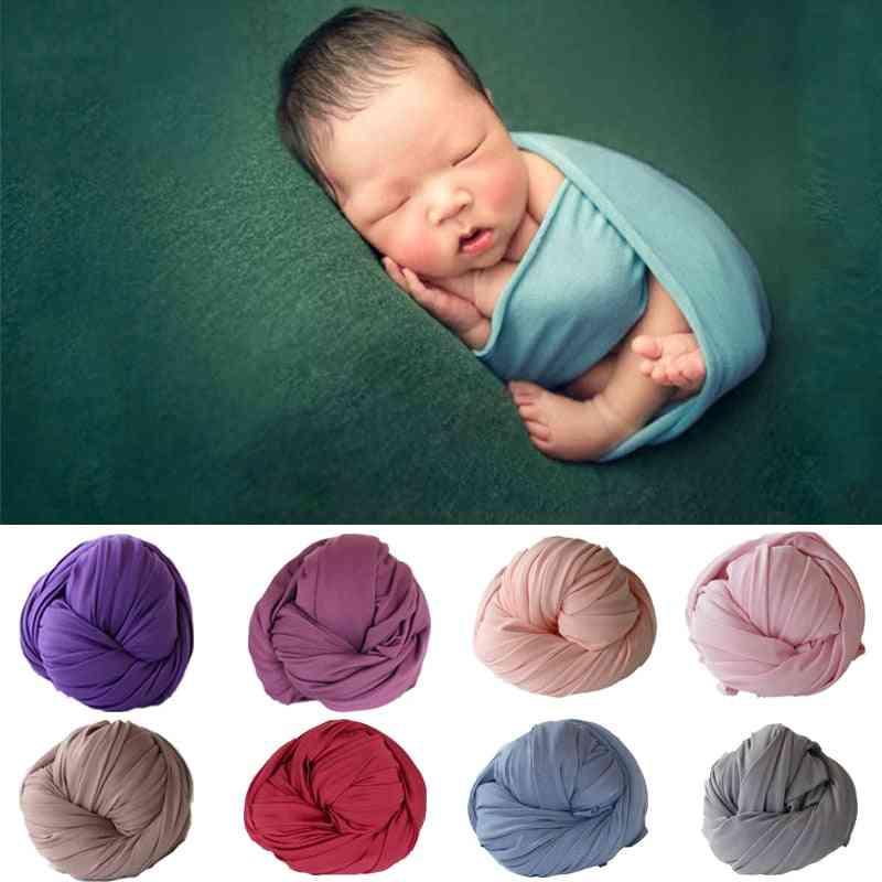 Stretch Cotton Blanket For Newborn Baby