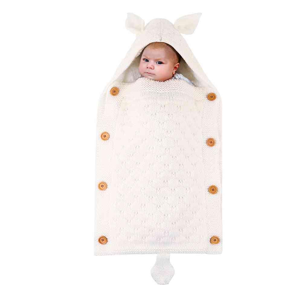 Newborn Baby Boy / Girl Swaddling Blanket Sleeping Bag