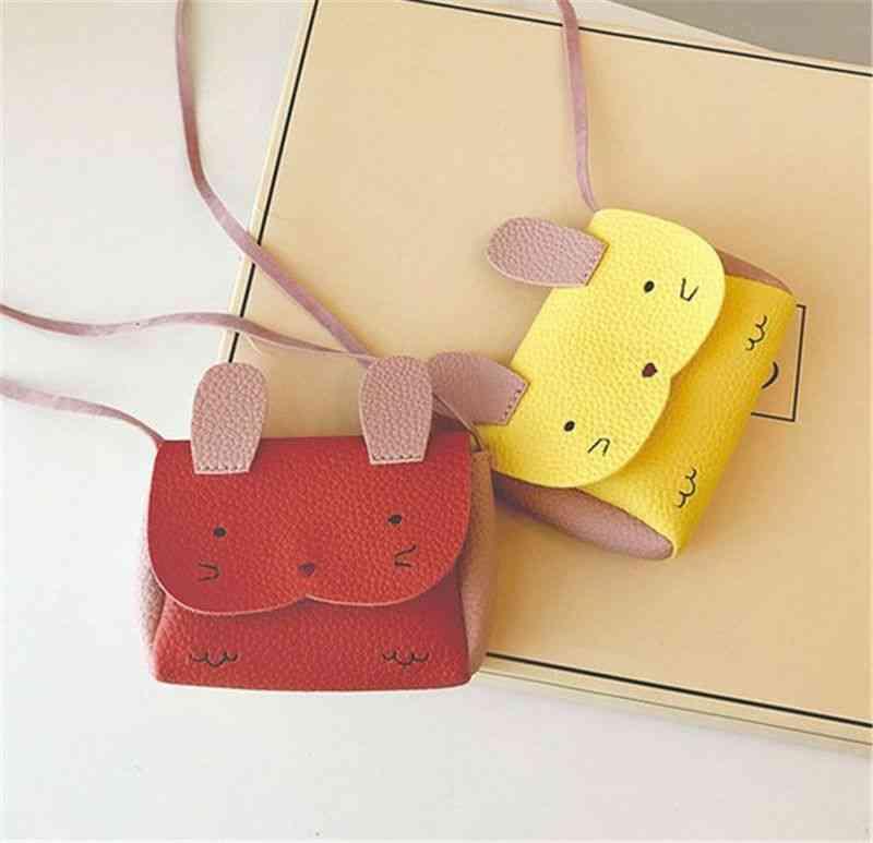 Bunny Design Crossbody Messenger Bag For Kids