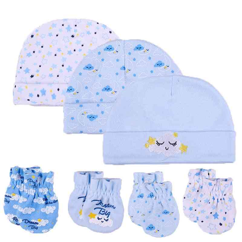 Unisex Cotton, Hats, Gloves, Headwear - Fitted Baby Accessories