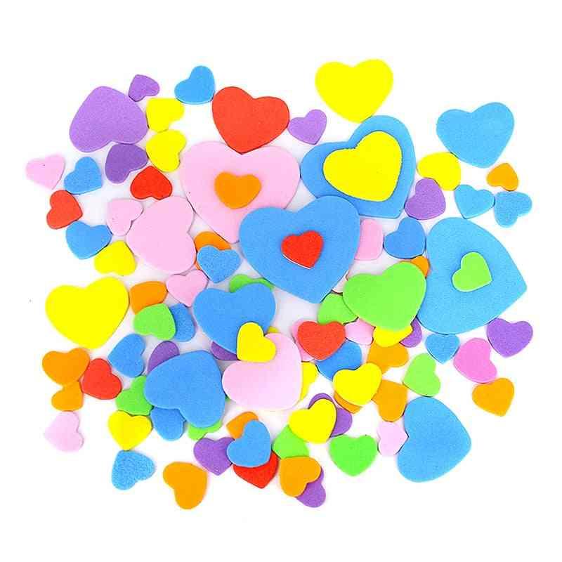 Geometric Figure Star Heart Animals Foam Stickers