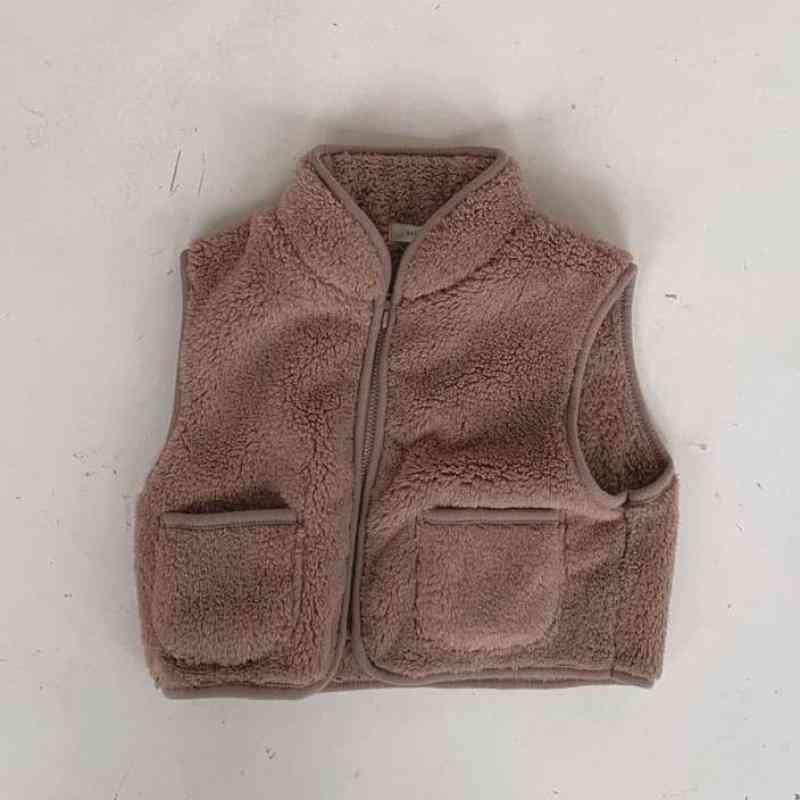 Winter Warm Vest Jacket Sleeveless For Girl & Boy