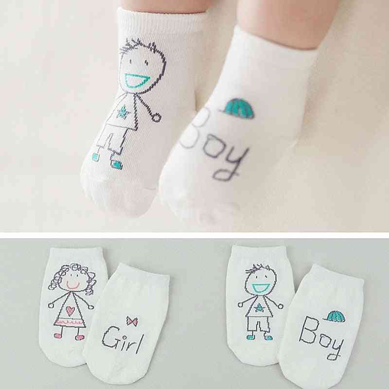 Non-slip Soft Cotton Cartoon Socks For Boy & Girl