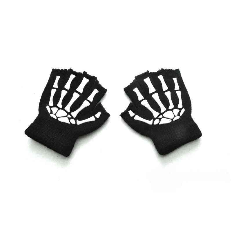 Boys & Winter Warm Halloween Gloves