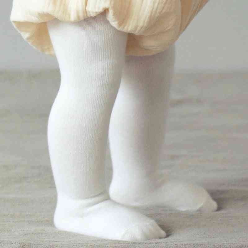Baby Spring & Autumn Tights - Cotton Girl Pantyhose Infant Knitted Soft Clothing