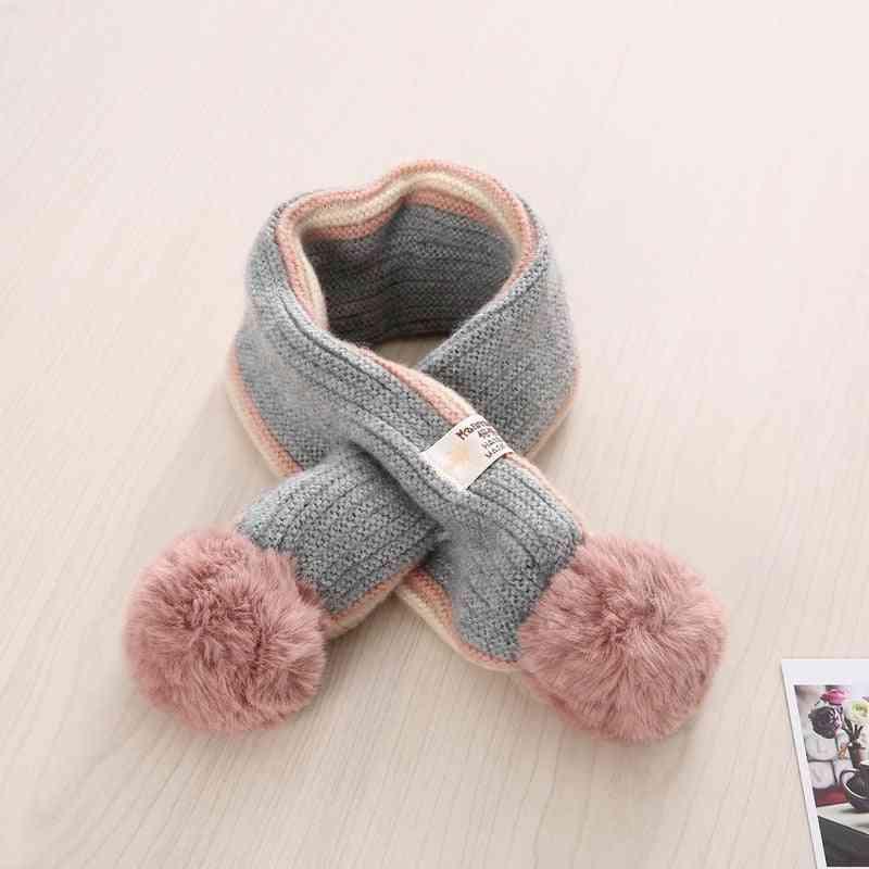 Autumn & Winter Toddler / Cross Knitting Wool Scarves - Baby Wild Warm Scarfs