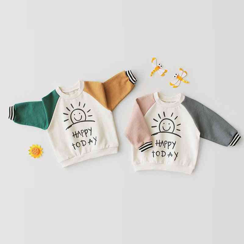 Toddler Baby Boy / Girl Long Sleeve - Pure Cotton Casual T-shirt