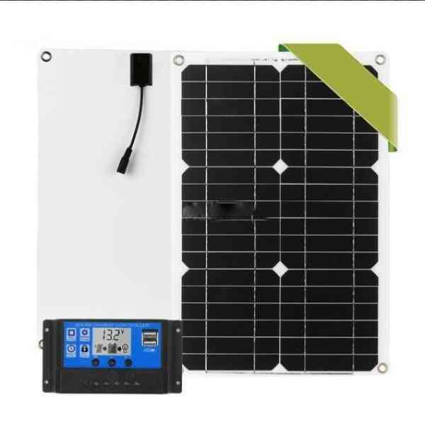 180w 12v Protable Solar Panel Kit With Controller